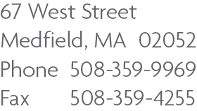 Medfield Address